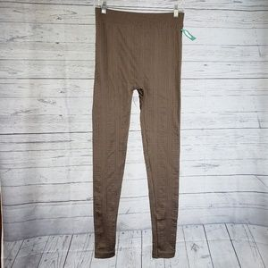 Maurices Leggings Size L/XL Brown